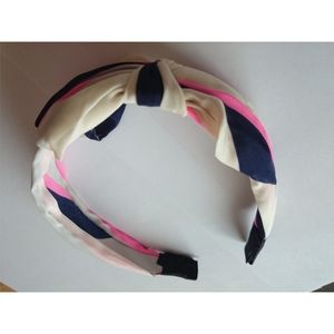 Head hoop head band with bow knot